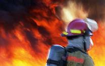 Kaplama fabrikasında yangın çıktı.5797