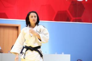 Judo Dünya Şampiyonası'nda Ebru Şahin dünya yedincisi oldu.7808