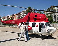 Baykal'ın helikopterinin pervanesi koptu, 1 kişi öldü.15325