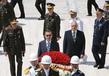 Erdoğan Anıtkabir ziyaretinde 2023 hedefini yazdı.60549