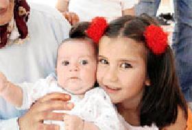 23 günlük bebeğe ilik nakli yapıldı .11399