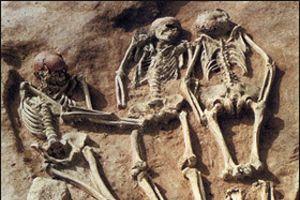 Çeçenistan'da toplu mezar bulundu.20080