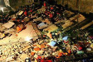 Uganda'da 5 katlı bina çöktü: 4 ölü.22252