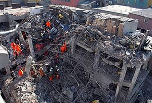 Atölyedeki patlamayı provoke eden grup iş başında.24998