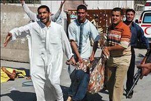 Bağdat'ta ölü sayısı 98'e çıktı.19867