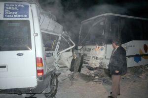 Ankara'da zincirleme kaza!.24353