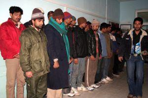 Ege Denizi'nde 53 kaçak yakalandı.14485
