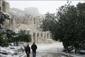 Denizli'ye yılın ilk karı yağdı.18497