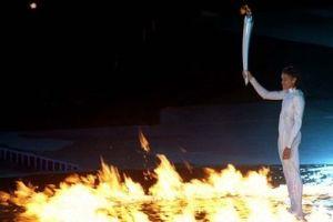 Olimpiyat me�alesi Tibet'te.8291