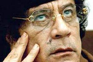 Kaddafi imajını değiştirdi.12679