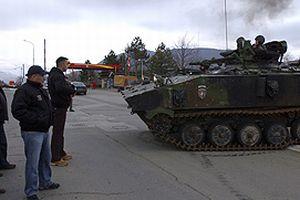 Kosova'da tansiyon y�ksek.12447