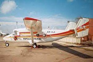 Alman gösteri uçağı İran'da düştü.12549