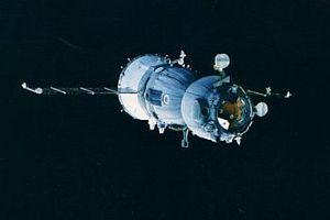 Soyuz uzay aracı dünyaya döndü.6569