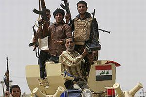 Irak ordusu Sadr mahallesinde.14582