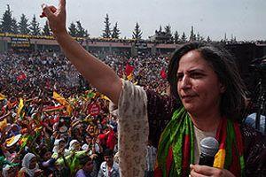 DTP'li Gültan Kışanak, PKK sözcüsü gibi konuştu.20300