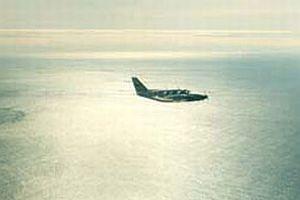İki uçak havada çarpıştı: 2 ölü.7411