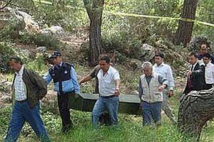 Kayıp polisin cesedine ulaşıldı.25206