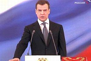 Medvedev'in gündemi boru hatları.10443