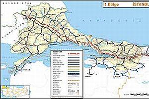 Türkiye'nin yolları dijital ortamda.21147
