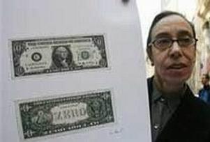 ABD'nin yeni banknotu: Sıfır Dolar.9635