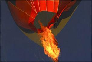 Balon festivalinde facia yaşandı.8072
