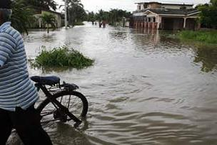 Vietnam'ın başkenti sular altında.15004