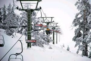 Kartalkaya'da kar kalınlığı 22 santimetre.15061