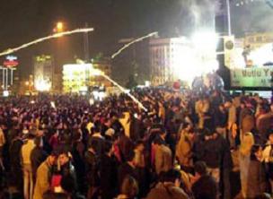 Taksim Meydanı yılbaşına hazır.14823