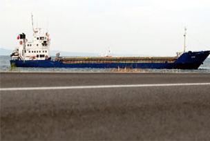 Çanakkale Boğazı'nda gemi arızası.8228