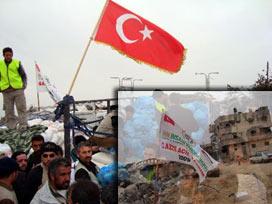 Türk kuruluşları, Gazze'de yara sarıyor.16229