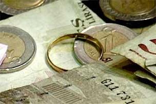 Gazze için nişan yüzüğü ve küpe.14180