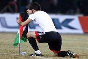 Filistin bayrağı diken Dağaşan'a ceza.11164