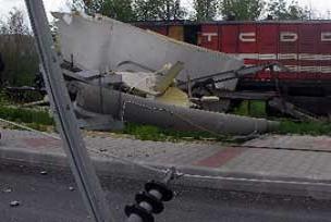 Kırıkkale Ekspresi TIR ile çarpıştı.13025