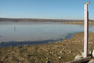 Dim Barajı tamamen boşaldı.10931
