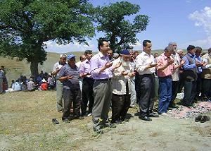 Kırıkkale'de 'şükür' duası.22393
