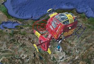 Helikopterlere Ankara'dan yakın takip.16887