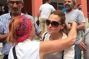 Gözaltına alınan Yeliz Koray, serbest bırakıldı.25940