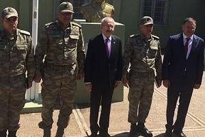 CHP lideri Kılıçdaroğlu, Suriye sınırına gitti.24729