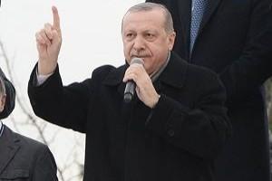 Erdoğan: Afrin'de zafer yakındır.12763