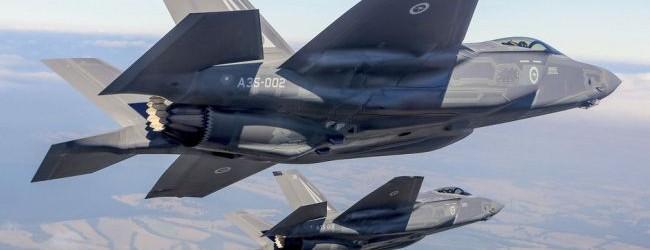 ABD uçakları Kuzey Kore sınırında!