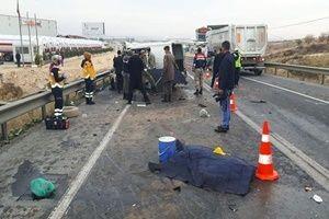 Antep'te feci kaza: 5 ölü, 3 yaralı!.22785