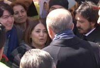 Cumhurbaşkanı Erdoğan 'hayır' standında