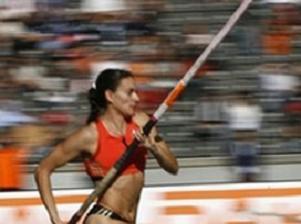 Sırıkla atlamada bayan dünya rekoru.12411