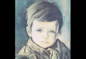 """""""Ağlayan Çocuk"""" tablosu lanetli mi?.9951"""