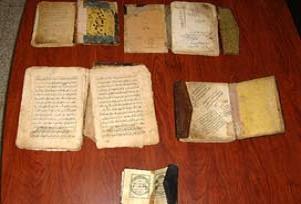 5 altın yazmalı kitap yakalandı.11461