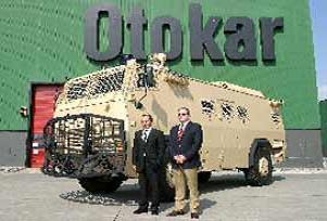 OTOKAR: Zırhlı araç siparişleri kesinleşti.16242