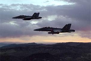 Savaş uçakları Gazze semalarında.8787