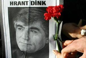 Hrant Dink, pazar ayininde anıldı.12026