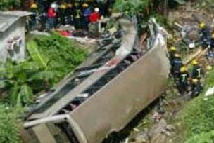 Otobüs binaya çarptı: 30 ölü 8 yaralı.14782