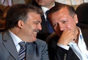 Abdullah Gül ve Erdoğan 1,5 saat görüştü.12325
